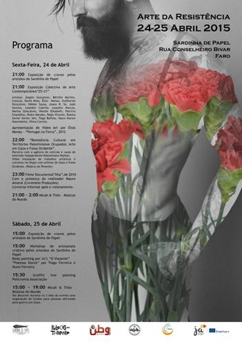 Arte da Resistência. Poster