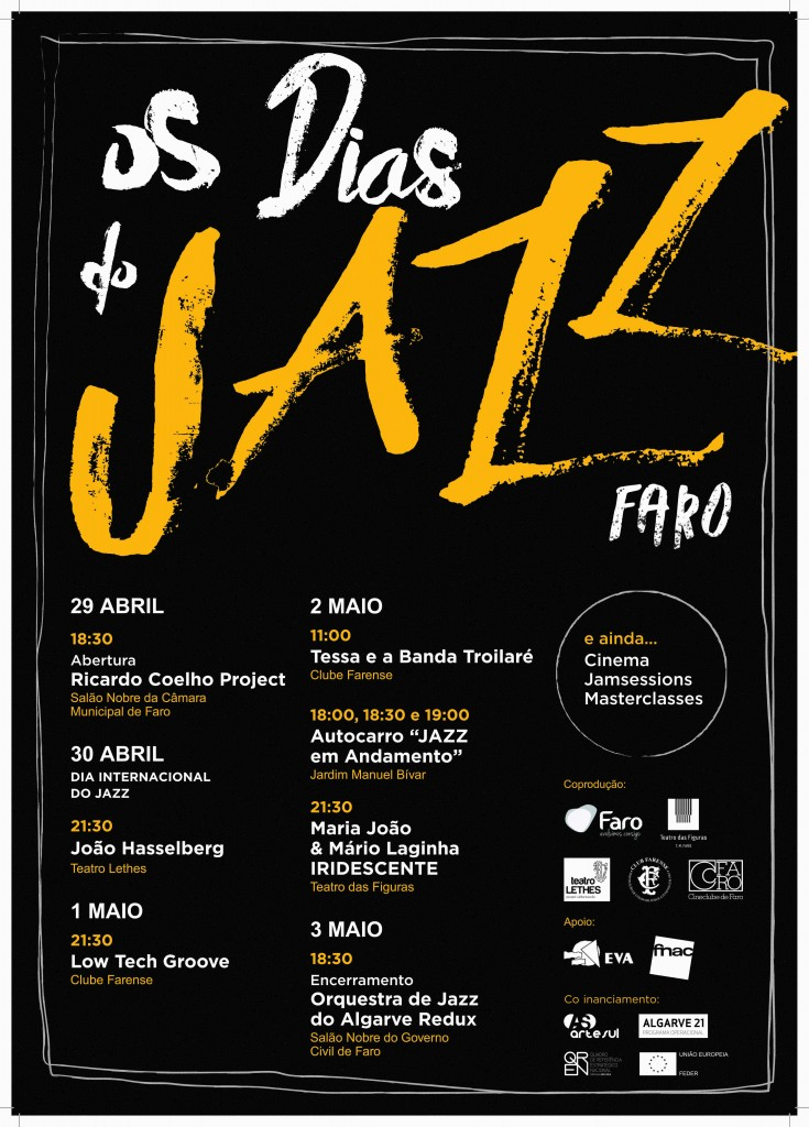 Cartaz Os Dias do JAZZ