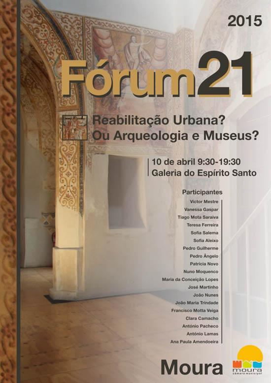 Fórum 21 2015 cartaz