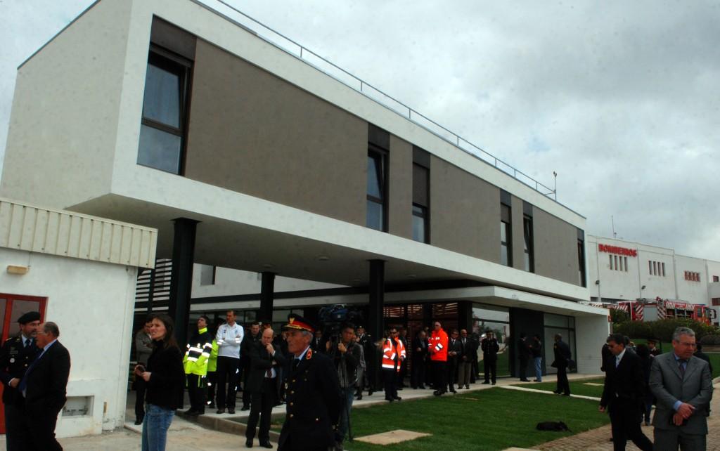 Inauguração do edifício de apoio à Base de Helicópteros em Serviço Permanente de Loulé com a presença da Ministra da Administração Interna em Loulé - C.M.Loule - Mira (3)