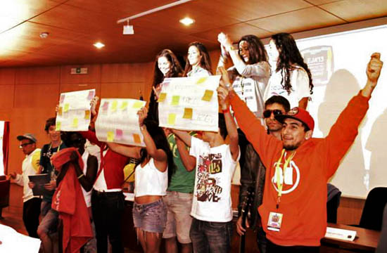 Jovens no EJA'13
