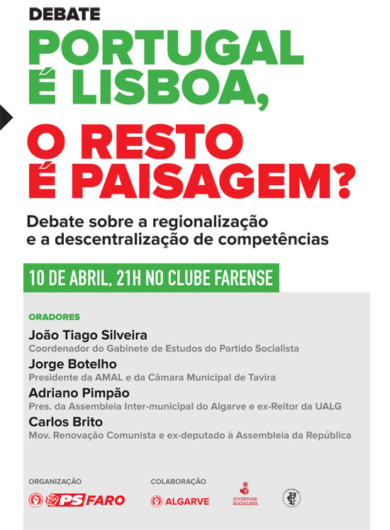 PSFaro_Cartaz_Debate
