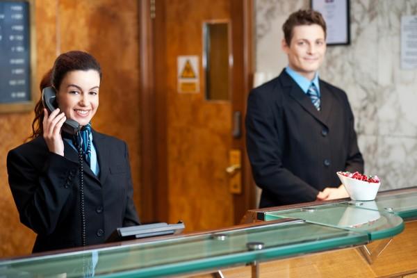 Rececionista de Hotel