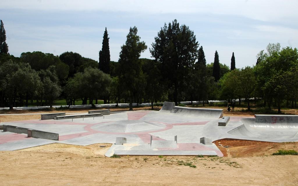 Skate Parque de Loule Foto 2 - C.M.Loule - Mira
