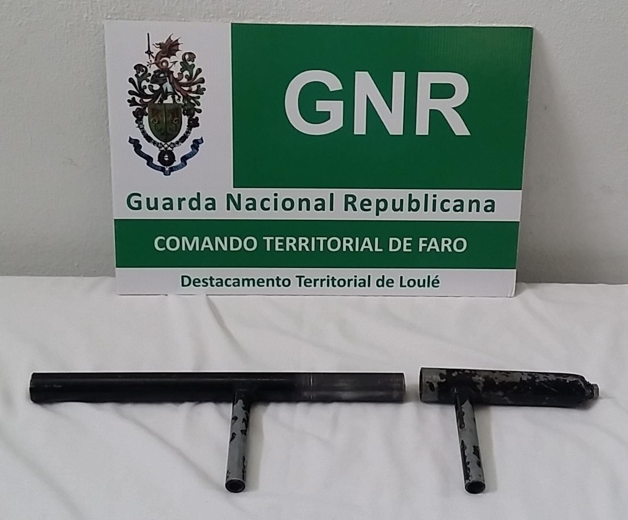 Arma de fogo de fabrico artesanal
