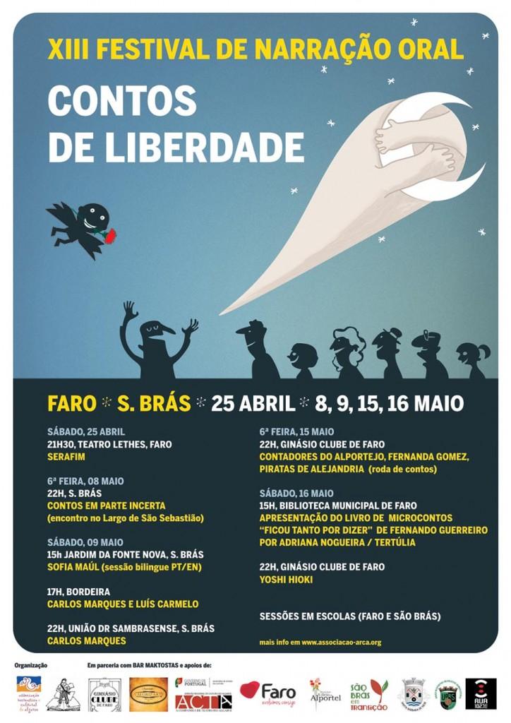 Contos da Liberdade 2015_Cartaz