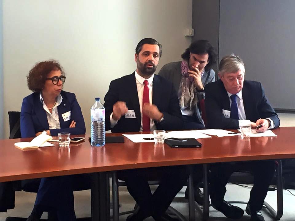 Deputados portugueses na Conferência sobre Economia azul_Bruxelas
