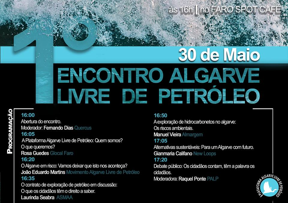 Encontro Algarve Livre de Petróleo