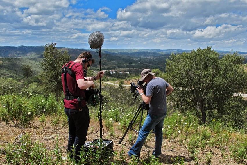 Documentário histórico da BBC filma a escrita do Sudoeste