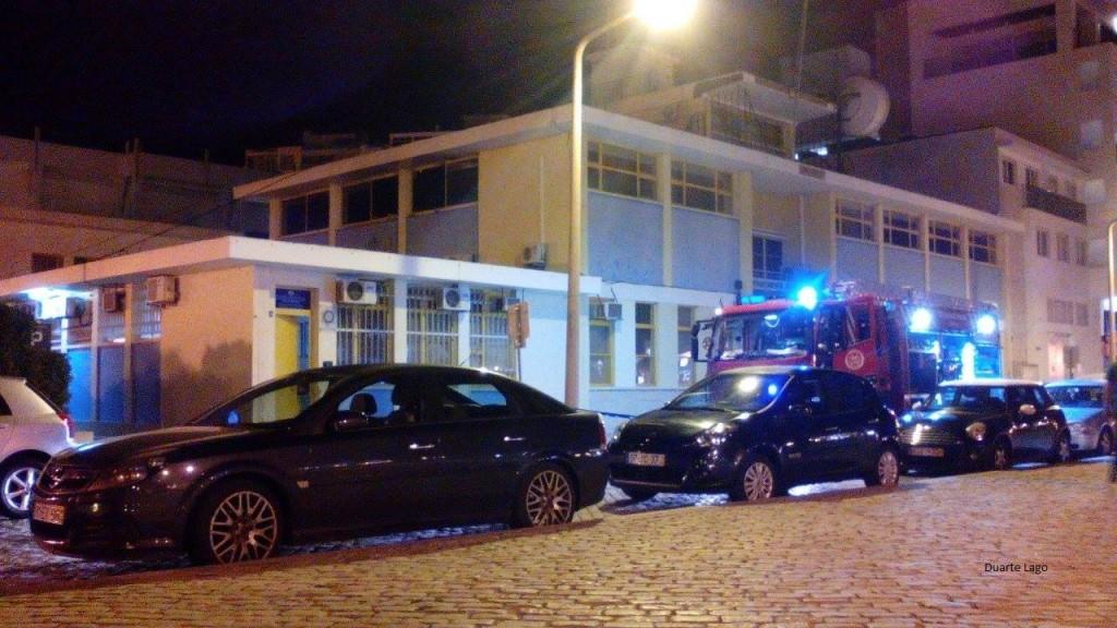 Incêndio Capitania de Faro