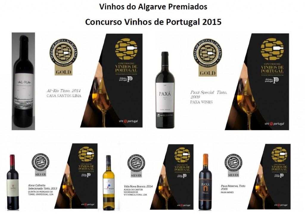 Vinhos do Algarve Premiados 2015