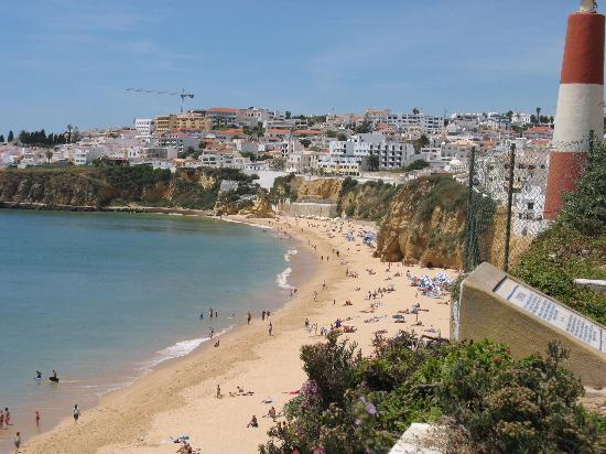 albufeira-beach-town