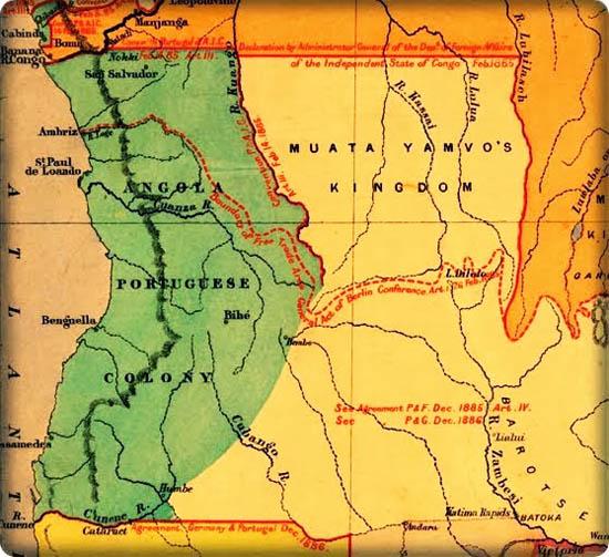 mapa da lunda