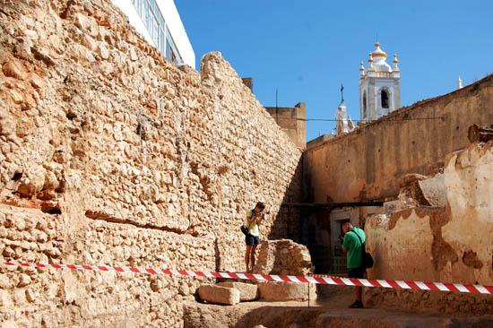 muralhas de portimão