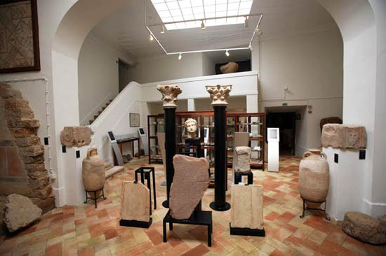 remodelação de salas do museu
