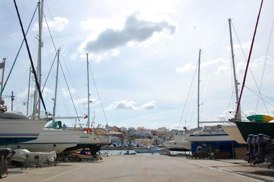 Sopromar - parqueamento de embarcações