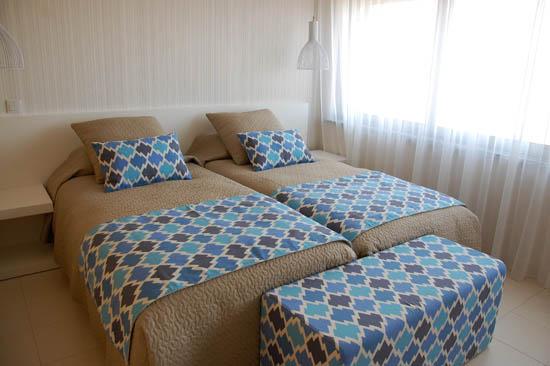 Os quartos preparados para os clientes, no novo edifício da Sopromar no Centro Náutico de Lagos