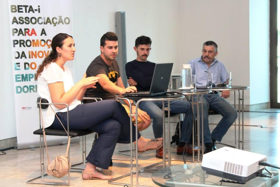 Patrícia Serra e João Luís, da Sushi4Home, na Beta Talk de Junho, em Portimão