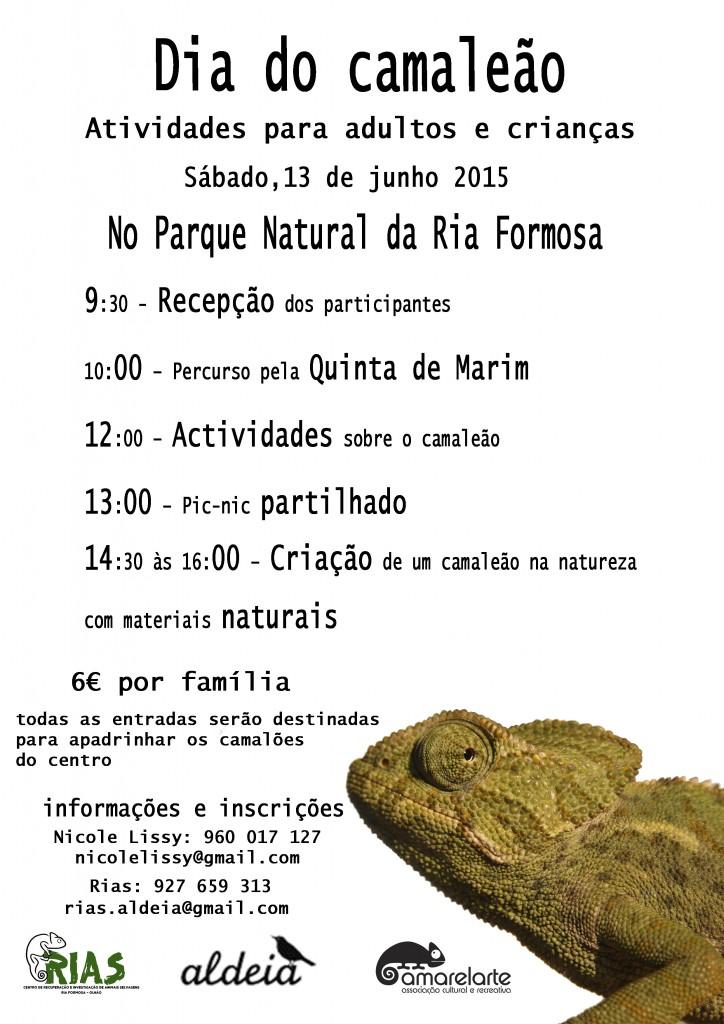 DIA DO CAMALEÃO info e insc