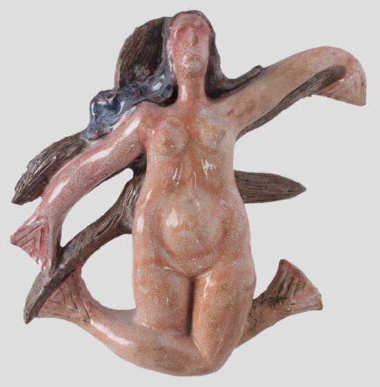 Escultura Sereia