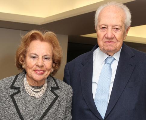 Maria Barroso e Mário Soares