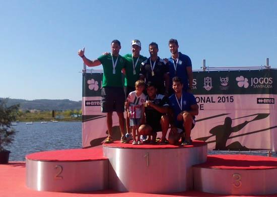 Pódio K2 200m: Diogo Lopes e Diogo Fazenda