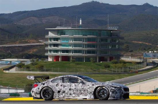 Testes do novo BMW M6 GT3