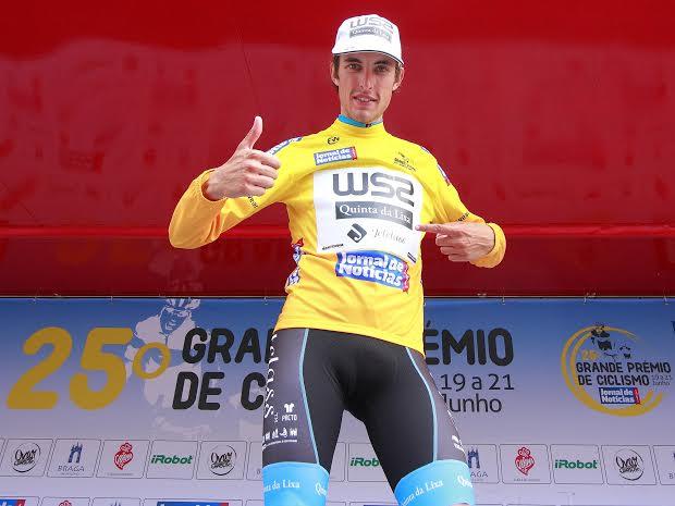 António Carvalho, o camisola amarela