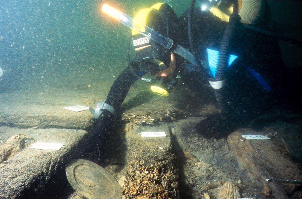 arqueologia subaquática no Arade