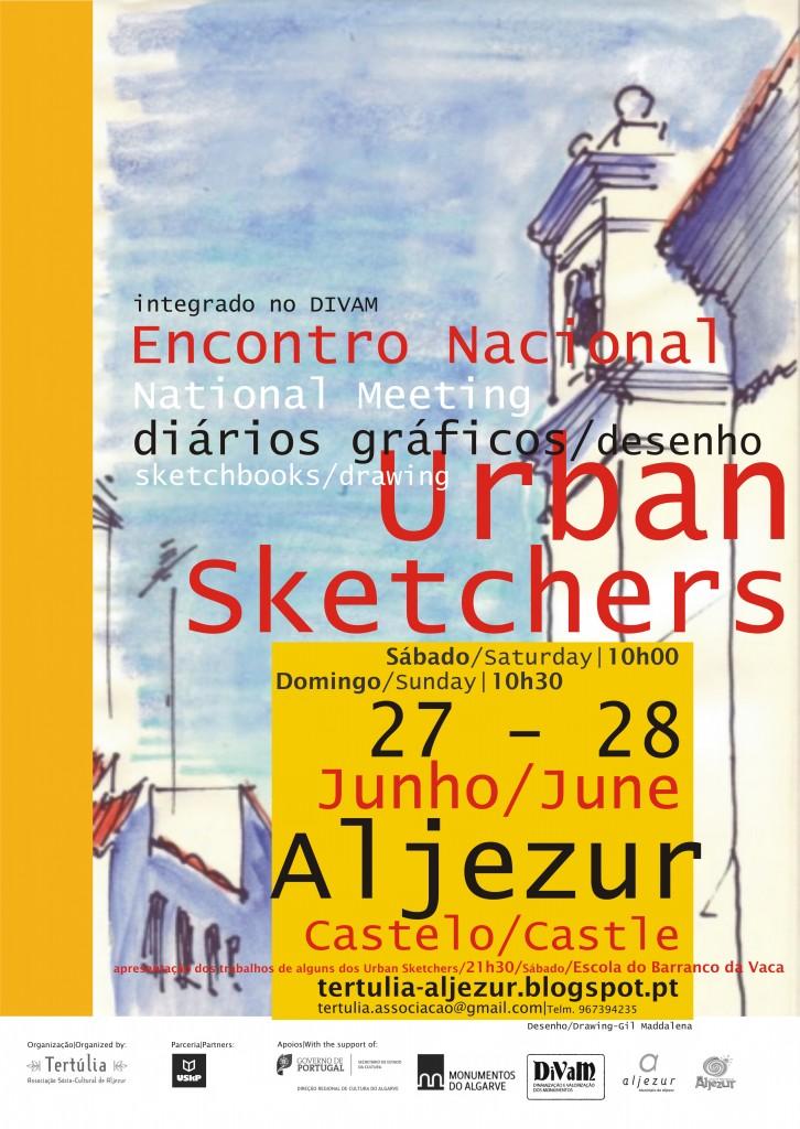 cartaz Urban Skt Castelo A3 divam 15