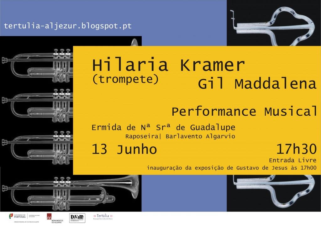 convite performance musical 13 junho 17h30