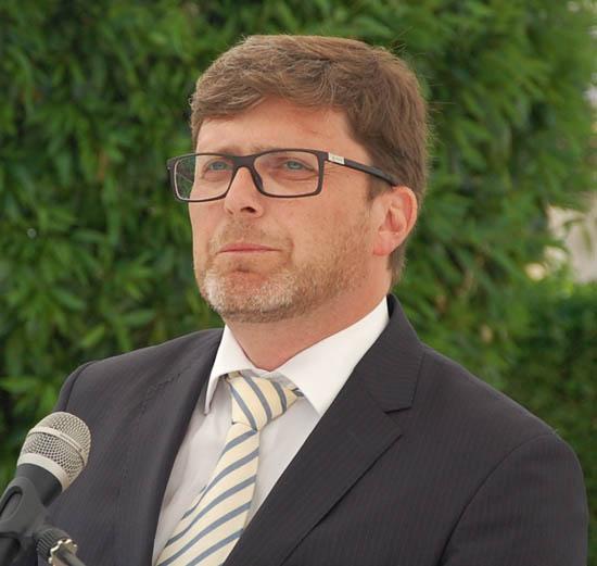 O administrador João Sampaio