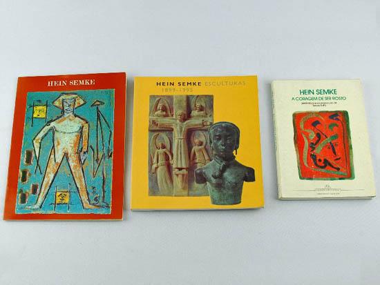 Livros de artista de Hein Semke
