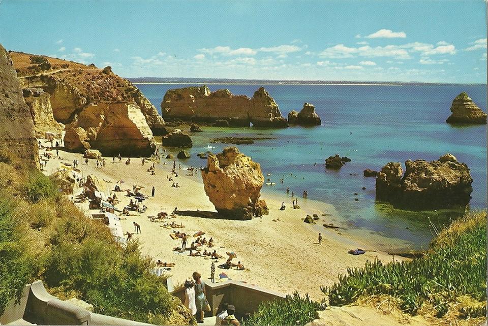 Praia Dona Ana nos finais dos anos 60 ou principio dos 70