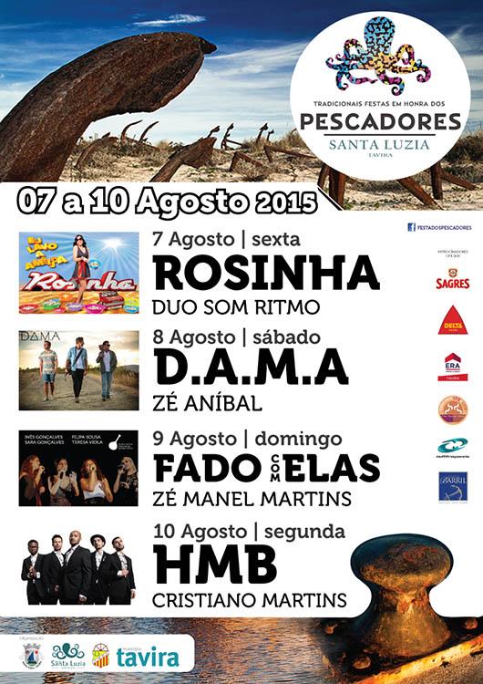 Festa dos Pescadores Santa Luzia 2015