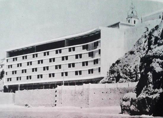 Hotel Sol e Mar em 1965 (Fonte - O Algarve, de Jorge Felner da Costa)