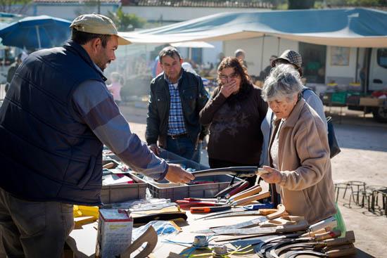 Mercado no Algarve - foto de Nuno Loureiro