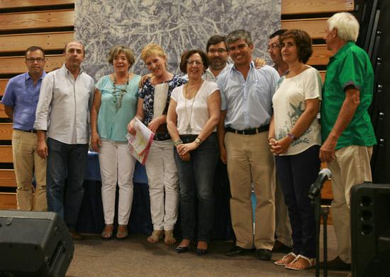 Maria Eugénia Militão (ao centro) ganhou o Grande Prémio do Concurso «Arte Doce»