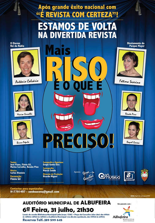 Revista à Portuguesa em Albufeira