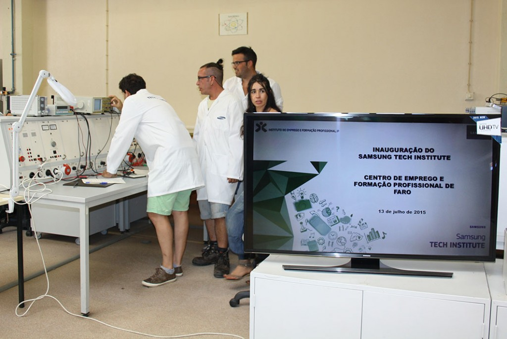 Samsung Tech Institute inaugurado em Faro