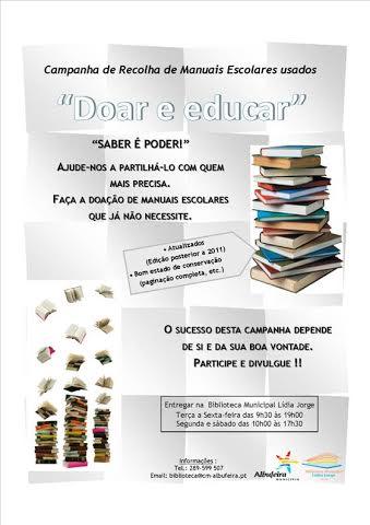 campanha manuais escolares