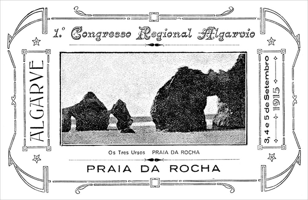 Cartaz2 1º Congresso Regional Algarvio 1915 -