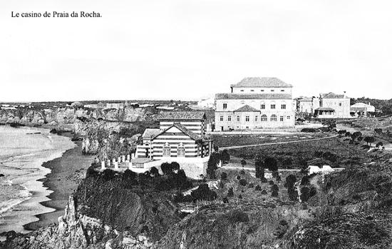 Casino da Praia da Rocha, no início de Séc. XX