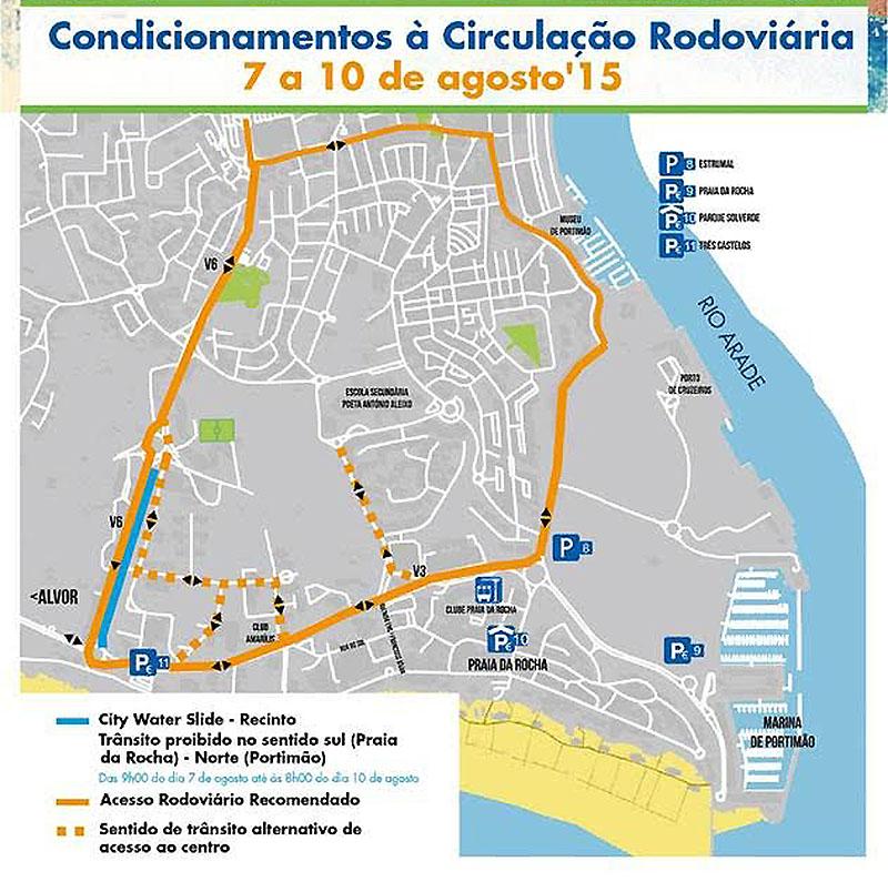 Condicionamentos de Trânsito Portimão
