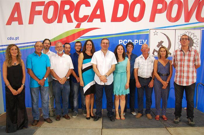 Candidatos da CDU pelo Algarve às Legislativas 2015