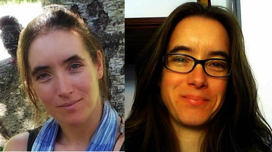 Hélia e Elizabete Marchante