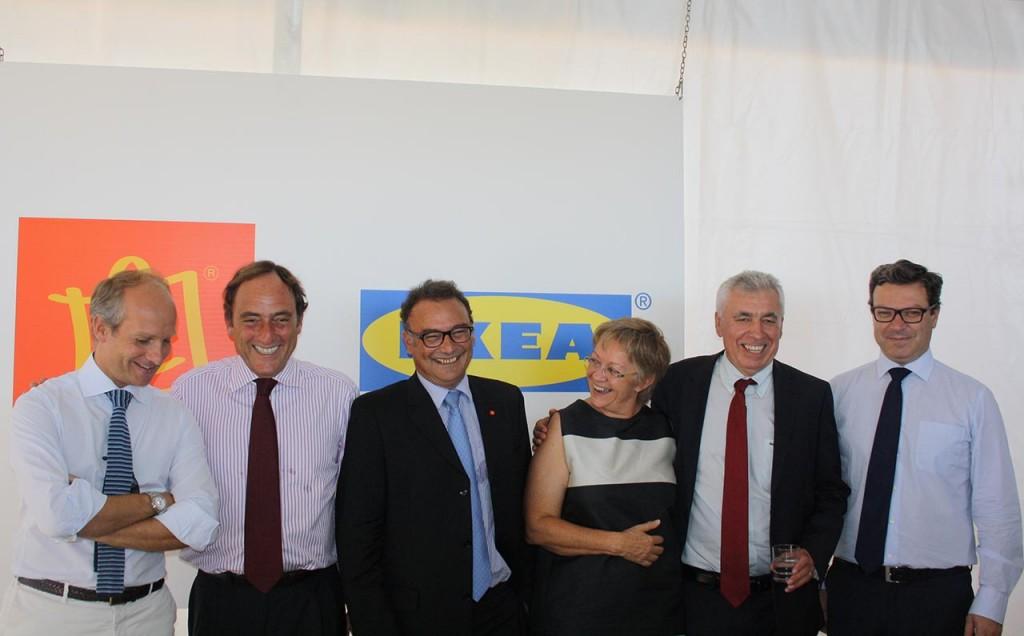 Lançamento da primeira pedra do IKEA Loulé