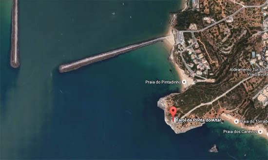 Praia do Pintadinha_google maps