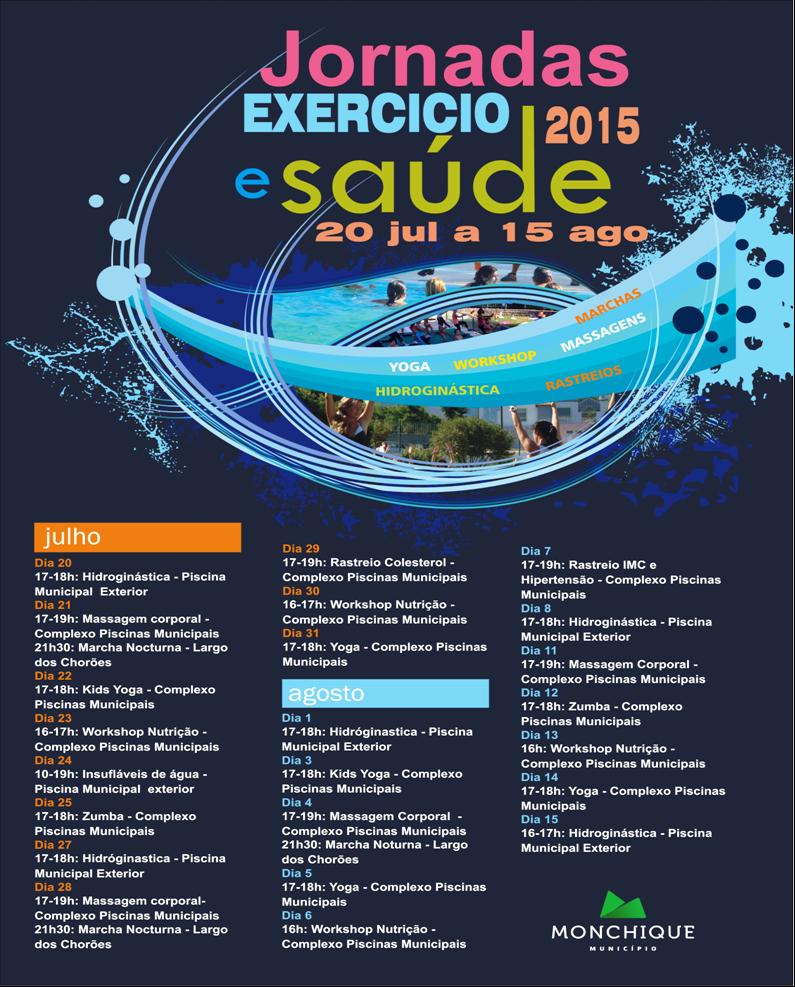 Programa Jornadas Exercicio e Saude Monchique