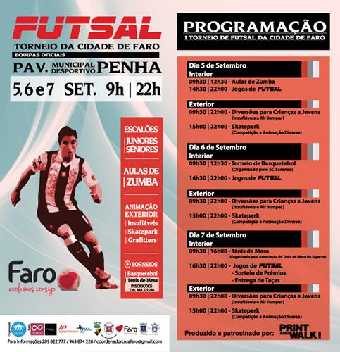 Torneio de Futsal Cidade de Faro